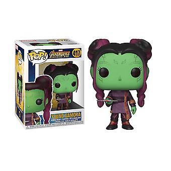 Avengers Infinity War Young Gamora con Dagger Funko Pop Bobble Head