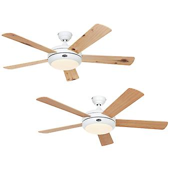 Ceiling fan TITANIUM White 132cm / 52