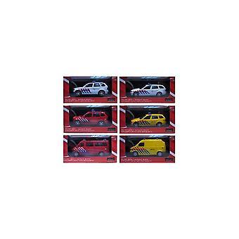 Automaxx 1:43 112 Hulpdienst Auto Assorti