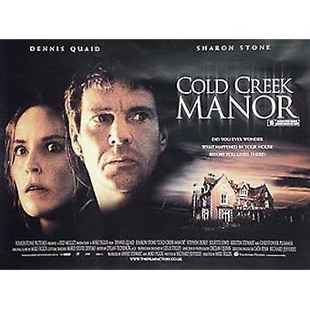 Cold Creek Manor (kaksipuolinen) alkuperäinen elokuva juliste