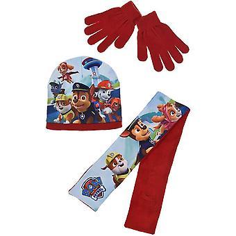 ボーイズHQ4197足パトロールハット、スカーフと手袋セット
