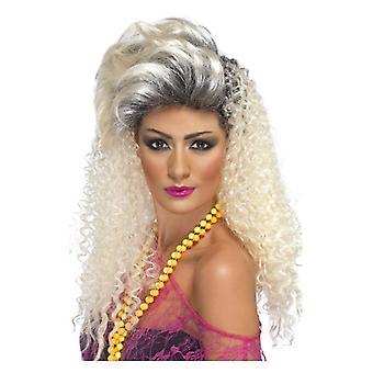 Las mujeres de los años 80 botellas peluca disfraces accesorios