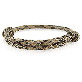 Skipper bracelet surfer band node maritimes bracelet nylon brown/black/grey 6920