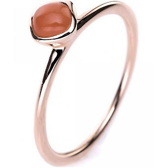 Gemstone Ring Moonstone 0,47 ct. Rozmiar 54