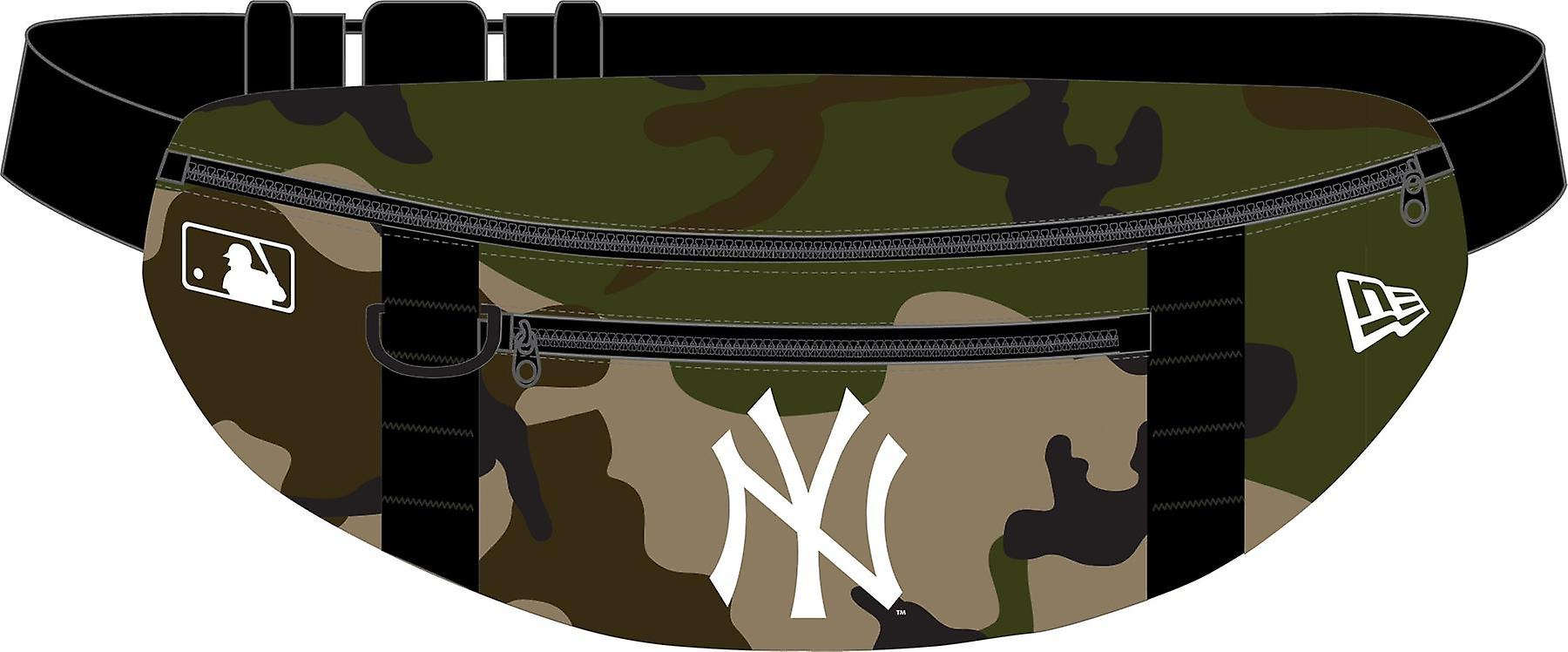 New Era MLB Lightweight Waist Bag ~ New York Yankees camo