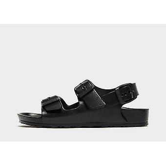 New Birkenstock Kids' Milano EVA Sandals Black