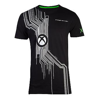 Microsoft Xbox The System Men's T-Shirt XX-Large Black (TS707678XBX-2XL)