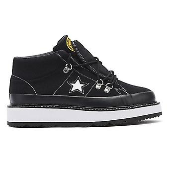 Converse One Star Fleece Lined Womens Black Boots