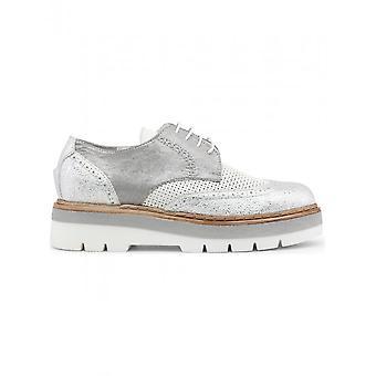 Ana Lublin - zapatos - zapatos con cordones - FATHIMA_BIANCO - mujeres - blanco, plata - 41