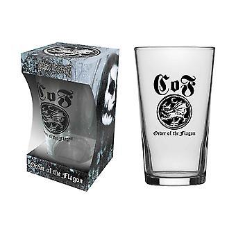 Bölcsőtől Filth pint üveg sorrendje Flagon Band logo új hivatalos dobozos