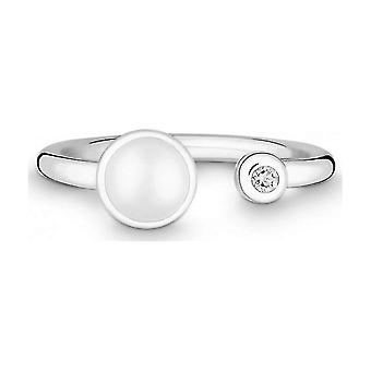 QUINN - Anello - Argento - Diamante - Pietra lunare - Wess. (H) - Larghezza 56 - 2119169