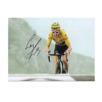 Geraint Thomas signed Tour de France Foto: Stage 17
