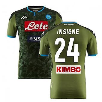 2019-2020 Napoli Kappa Away skjorte (INSIGNE 24)
