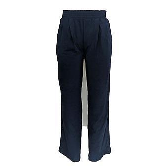 Anybody Women's Pants Cozy Knit Wide-Leg Blue A347172