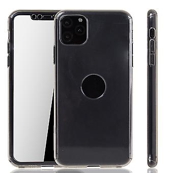 Apple iPhone 11 Case Case Phone Cover Protective Bag Bumper Fullcover Tank Protection Glass Transparent