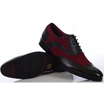 Azor Shoes Miller Brown/red Shoes