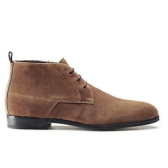 Hugo Boss Footwear Hugo Boss Men's Brown Desert Suede Boots