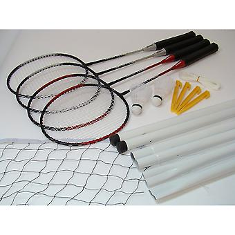 Bex Sport Badminton Complete Set for 4 Player
