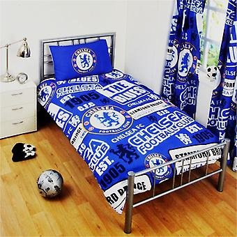 Chelsea patch Single pussi lakan asetti