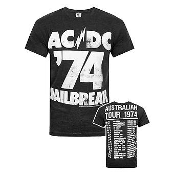 Amplified AC/DC Comics Jailbreak Men's T-Shirt
