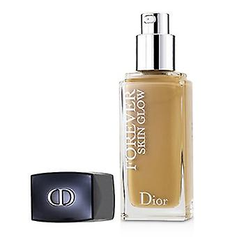 Christian Dior Dior Forever Skin Glow 24h Wear High Perfection Foundation Spf 35 - # 4wo (warme Olijf) 30ml/1oz