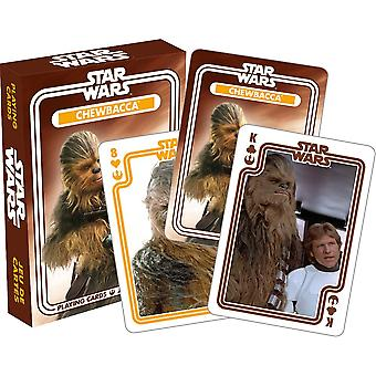 Star wars - chewbacca playing cards