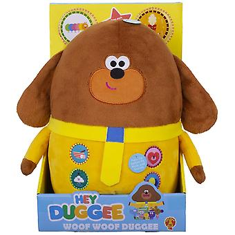 Hey Duggee Woof Woof Duggee Soft Toy 30cm Ages 10 Months+