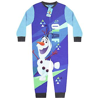 Disney Frozen 2 Olaf Boy's Microfleece Character Onesie