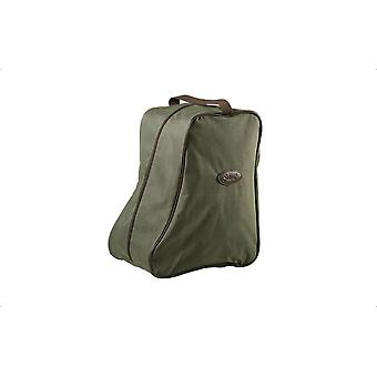 Seeland Boot Bag Green/Brown - great for boots and wellies