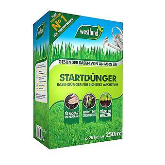 WESTLAND® gazonstarter meststof, 6,25 kg voor 250 m2