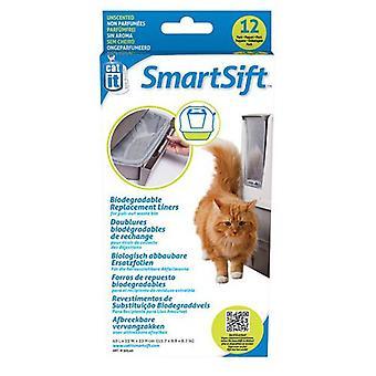 Catit SmartSift nedbrytbart erstatning Liners for uttrekkbar Icon avfallsbeholder