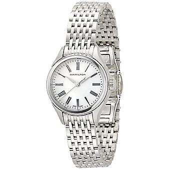 Hamilton ladies Quartz analogue watch with stainless steel band H39251194