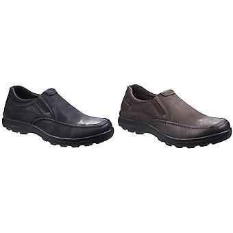 Flåden & Foster Herre Goa læder Slip-On sko