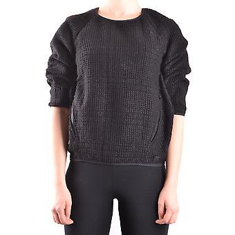 Peuterey Ezbc017124 Women's Black Acrylic Sweater