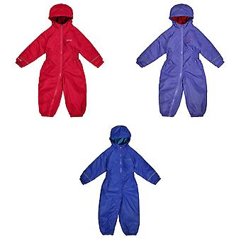 Regatta Great Outdoors Childrens Toddlers Splosh III Waterproof Rainsuit