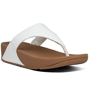 FitFlop™ Lulu cuir Toe Womens Post sandales