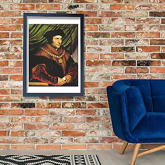 Hans The Younger - Sir Thomas More Poster Print Giclee