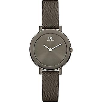Eminem's DZ120397-wrist watch for women, black leather strap