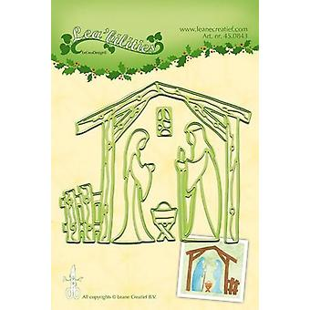LeCrea - Lea'bilitie Nativity scene Cut and Embossing Die al 45.0843
