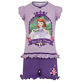 Disney Sofia The First Official Gift Toddler Girls Short Pyjamas