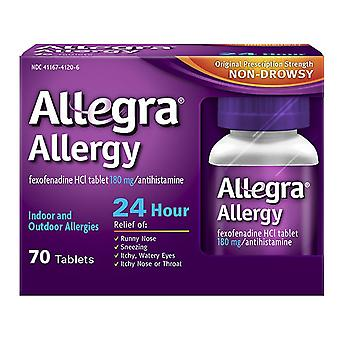Allegra 24 ore allergia, 180 mg, compresse, 70 EA