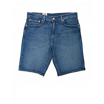Levi's Red Tab 502 Tapered Fit Denim Shorts