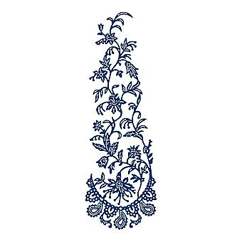 Tattered Lace Paisley Climber Die
