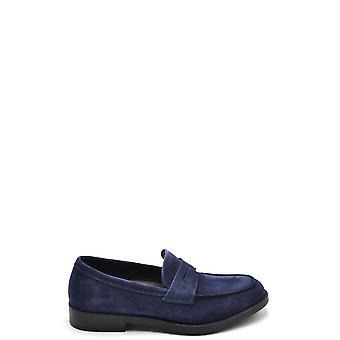Fratelli Rossetti Ezbc052032 Men's Blue Suede Loafers