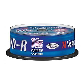 DVD-R Verbatim 43522 16x 25 db