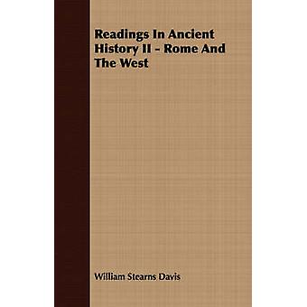 Readings In Ancient History II  Rome And The West by Davis & William Stearns