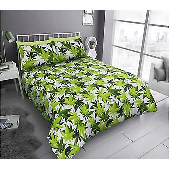 Leaf Design Duvet Cover Set