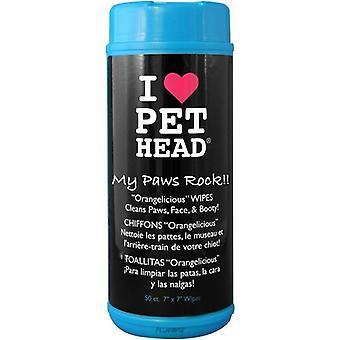 PET Head min Paw & Body våtservetter
