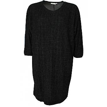 Masai Clothing Grussa Black & White Flecked Tunic