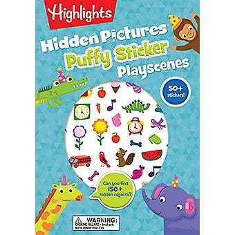 Hidden Picture Sticker Playscenes by Highlights - 9781684372492 Book